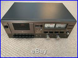 Vintage Cassette Deck Teac A-300 3 Head Recorder Dolby REFURBISHED