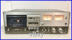Vintage DENON DR-350 Cassette Player/Recorder-Works Great-High End-Rare Unit