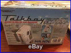Vintage Deluxe Talkboy Cassette Player Tape Recorder Home Alone 2 NEVER USED