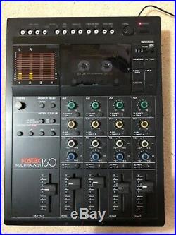 Vintage Fostex 160 Multitracker Multitrack 4 Track Recorder Mixer Cassette Tape