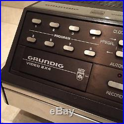 Vintage Grundig Video Cassette Recorder 2x4 Video Vcr 2000 Rare Made In Germany
