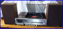 Vintage Hi Fi JVC MF-33, Record Player, Cassette, Radio, Aux 1970s