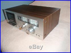 Vintage HiFi Professonal Akai Cassette Recorder Deck GXC-706D Excellent