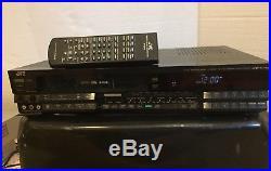 Vintage JVC Editing VHS Video Cassette Recorder HiFi HQ 4 Head HR-D530U Pro
