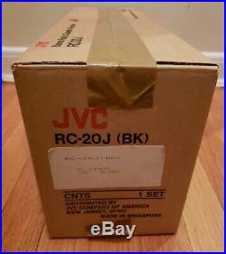 Vintage JVC Steroe Radio Cassette Recorder RC-20J Boombox Open Box
