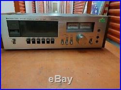 Vintage Kenwood Kx-620 Hi-fi Stereo Cassette Deck Recorder Player