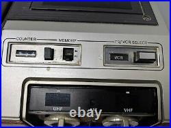 Vintage Magnavox Video Cassette Recorder Plus 6 Model VK8222BRO1 Extremely Rare