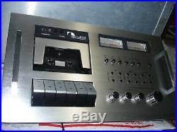 Vintage NAKAMICHI 600 2 Head Cassette Console Recorder Stereo Studio Tape Deck