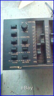 Vintage Nakamichi BX-300 3-Head Cassette Deck Recorder for Parts/Repair