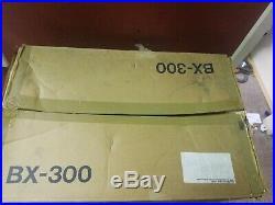 Vintage Nakamichi BX-300 3 Head Cassette Player-Recorder. Tested! Original box