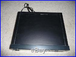 Vintage Onkyo Black TA-2058 Three Head Cassette Deck Recorder and Player