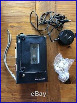 Vintage Panasonic RQ-356A cassette tape playerWalkman portable voice recorder