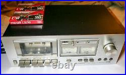 Vintage Pioneer CT-F500 Aluminum Face Dolby Stereo Recorder Cassette Deck