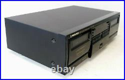 Vintage Pioneer Elite CT-05D Dual Cassette Player/Recorder WORKS
