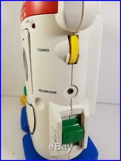 Vintage Playskool Cassette Recorder PA AM FM PS-460 Mr Mike Toy Story