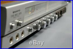 Vintage SANYO G2002 Music Centre, 1970s Vinyl & Cassette Recorder Fully Working