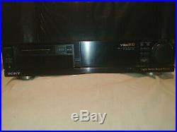 Vintage SONY EV-S1000E PAL Video8 Hi8 8mm Video Cassette Recorder Player Faulty