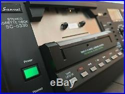 Vintage Sansui SC-5330 Stereo Cassette Deck / Record / Tape Deck / RARE / Hifi