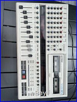 Vintage Sansui WS-X1 Cassette Recorder, 6 Track, 8 Channel Mixer Spins Cassettes