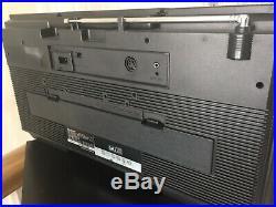 Vintage Sharp GF454 Boombox Ghettoblaster Stereo Radio Cassette Recorder Player