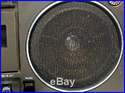 Vintage Sony CF-530 Cassette Recorder Boombox