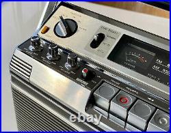 Vintage Sony CF-580 Radio Cassette Recorder Retro SERVICED (3)