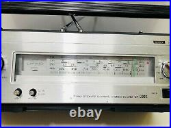 Vintage Sony CF 590s Boomboxes Stereo Radio Cassette Recorder Classic RARE 1970s