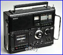 Vintage Sony CF-950S FM/MWithSW1/SW2/SW3 Radio Cassette Recorder BCL era