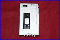Vintage Sony TCM-600 Cassette Corder Recorder Walkman 1978 New belts Full metal