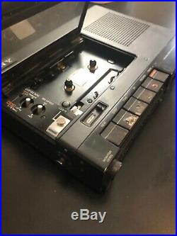 Vintage Sony Tc-d5m Professionalstereo Cassette Recorder Working