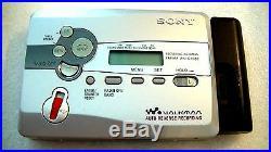 Vintage Sony Walkman Personal Cassette Recorder Wm-gx680