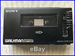 Vintage Sony Walkman WM-D6C Cassette Recorder/Player