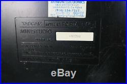 Vintage TASCAM Mini Studio CASSETTE MULTI TRACK RECORDER Model Porta Two (Japan)