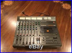 Vintage Tascam 246 Analog 4-Track Cassette Tape Recording Studio