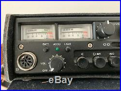 Vintage Uher Cr240 Cassette Portable Recorder Used