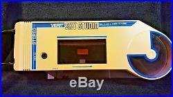 Vintage Verit Sky Studio PC-1000 Cassette Phonograph Turntable Record Walkman