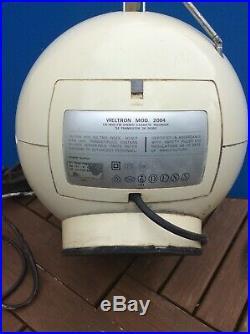 Vintage Weltron Space Cassette Recorder Transitur Radio Mod 204