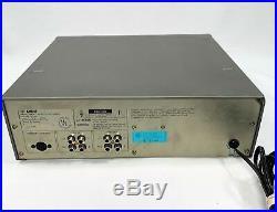 Vintage Yamaha MT 44 Multi Track Cassette Recorder Tested Works Great