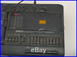 Vintage Yamaha MT100 II Multitrack 4-Track Cassette Recorder, Tested