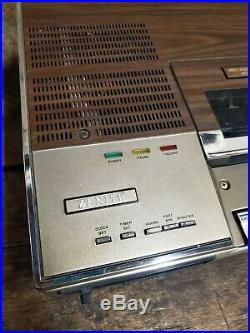 Vintage Zenith Betamax Betatape System Video Cassette Recorder KR-9000W RARE