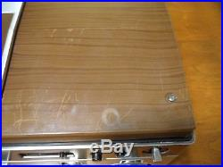 Vtg Sanyo Beta Betacord Video Cassette Recorder Player VTC 9100A VHF/UHF Working