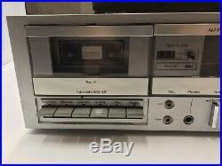 Vtg Set Of JC Penny AM/FM Stereo Cassette Player Recorder/ Turntable / 2 Speaker